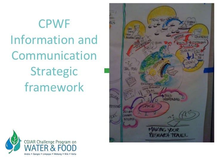 CPWF Information and Communication Strategic  framework<br />