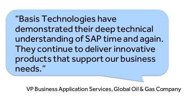 Basis Technologies DevOps and Testing Platform for SAP  Slide 2