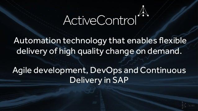 Basis Technologies DevOps and Testing Platform for SAP  Slide 3