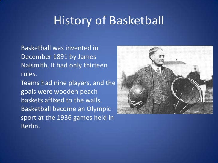 history of basketball 2 essay The purpose of these essays, which have been approved by the first  and on  the importance of being well informed about church history, doctrine, and.