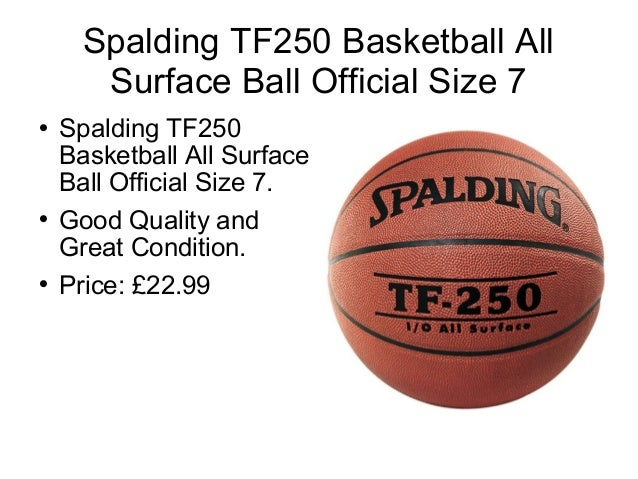 Purchase basketballs through online in UK