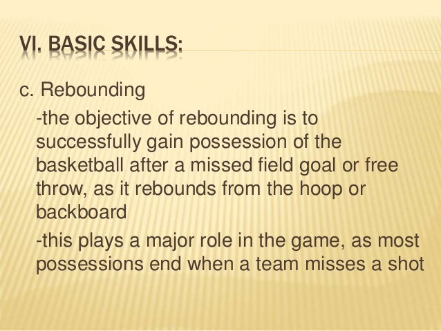 the basic skills of basketball Basic fundamentals start by teaching the basic mechanics of the game the essential skills that establish a foundation for success - like triple threat position, form shooting, defensive stance, and pivoting step 2 technical skills next, move onto the common basketball tasks players need to master - shooting, passing,.