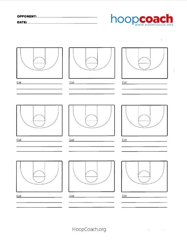 Basketball Court Diagram