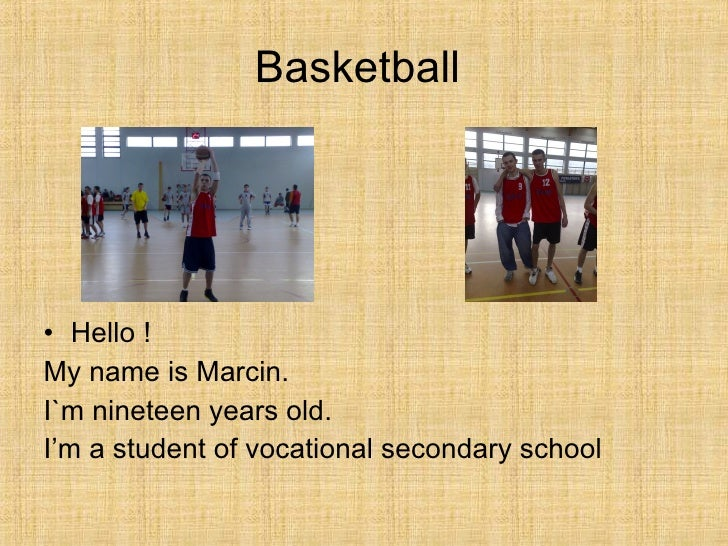 my favorite hobby basketball As a child playing basketball was my favorite activity or hobby it's also the way i  met a lot of my good friends that i have now all my close friends i have met.