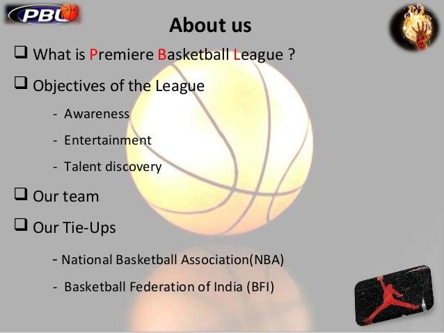 Basketball League Sponsorship Proposal