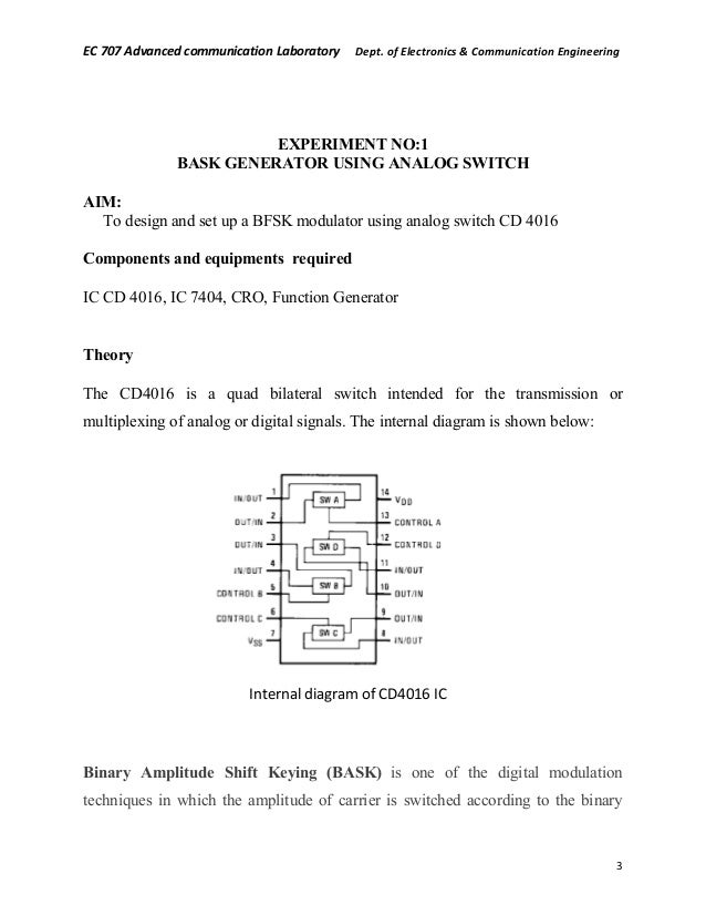 advanced communication lab manual rh slideshare net Digital Communication Speech Communication Lab