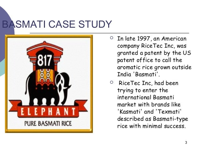Case Study on Basmati Rice | CaseStudyHub.com
