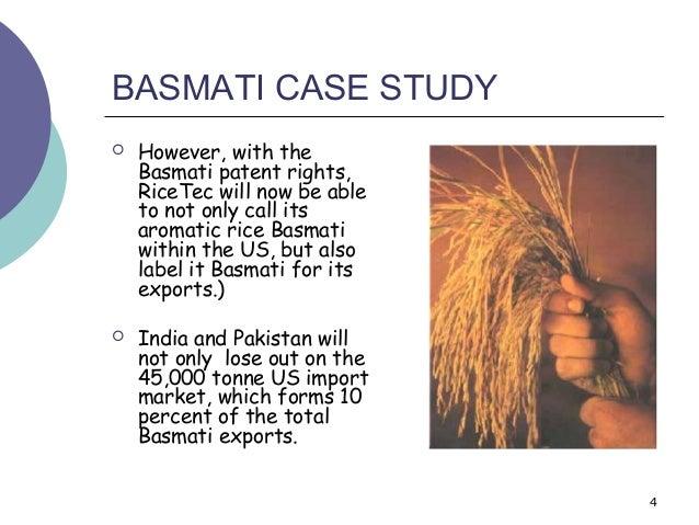 Basmati rice case study - SlideShare