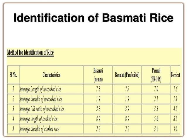 basmati rice patent case pdf