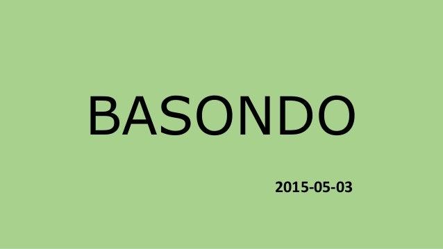 BASONDO 2015-05-03