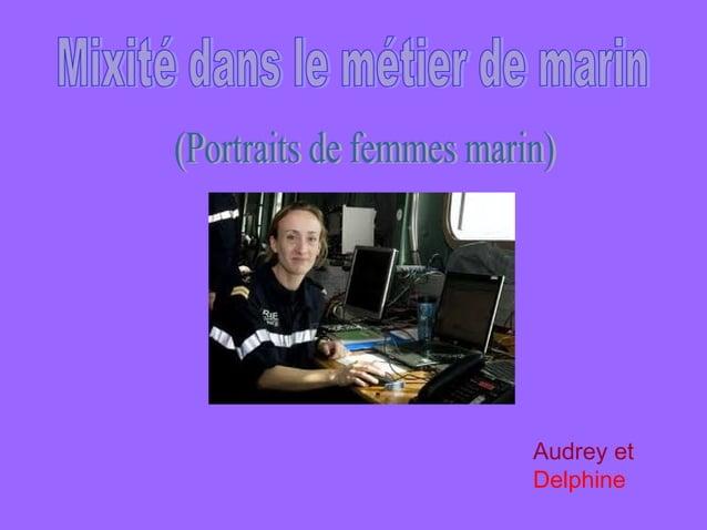 Audrey etDelphine