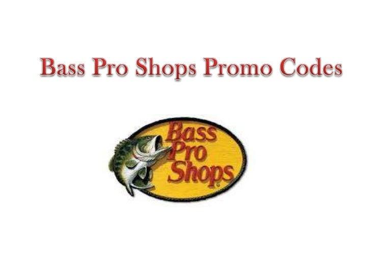 Bass pro discount coupons