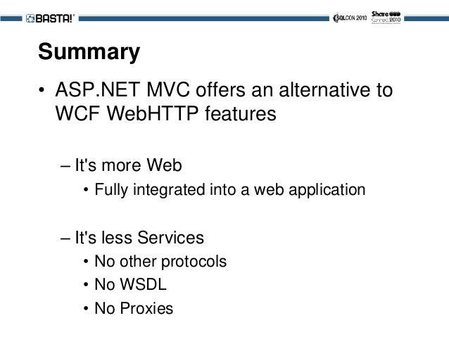 2010 - Basta!: REST mit ASP.NET MVC