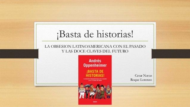 [PDF] Basta de Historias de Andres Oppenheimer - Free ...