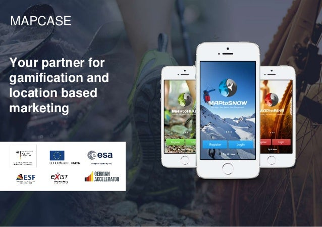 Your partner for gamification and location based marketing MAPCASE