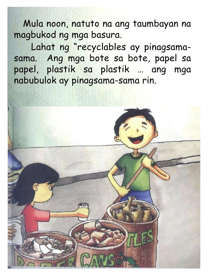 Dula dulaan tungkol sa basura