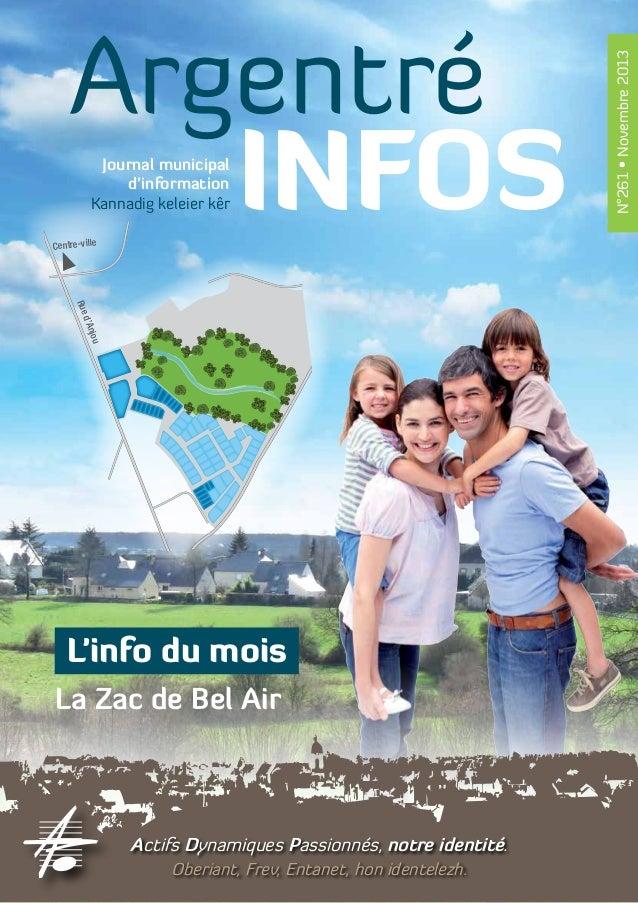Journal municipal ine Bd du Ma d'information Kannadig keleier kêr  Centre-ville  ou  'Anj  d Rue  Seiche  Gennes-sur-  L'i...