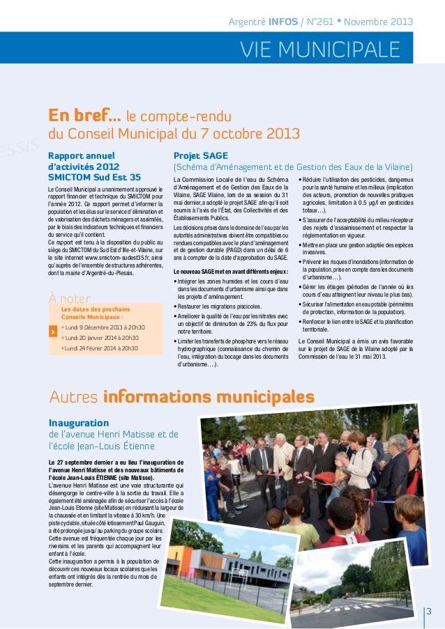 Argentré Infos Novembre 2013 Slide 3