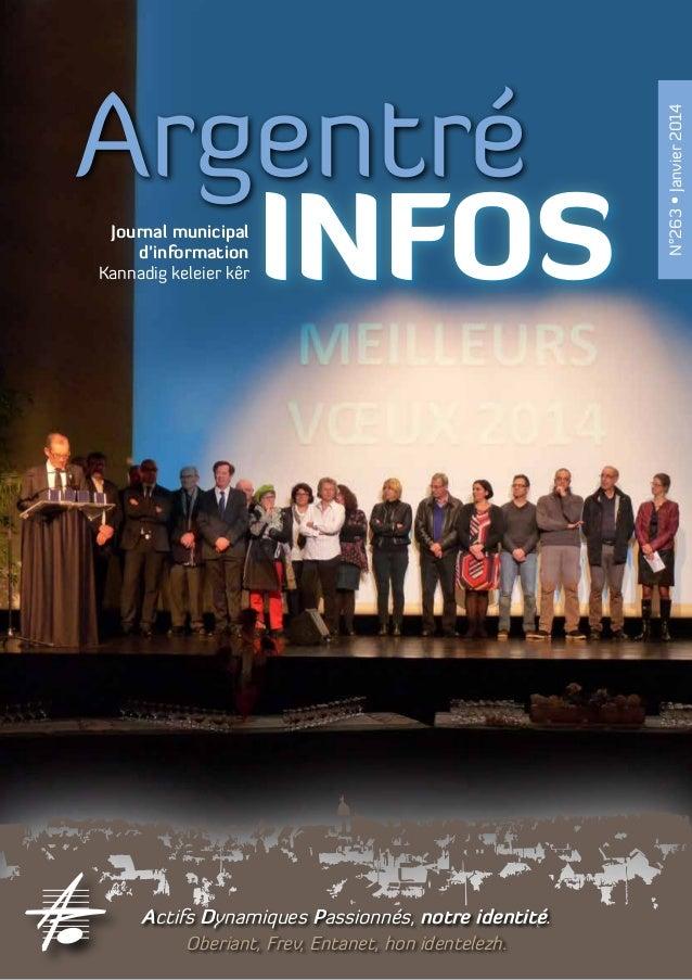 Journal municipal d'information Kannadig keleier kêr  Actifs Dynamiques Passionnés, notre identité. Oberiant, Frev, Entane...