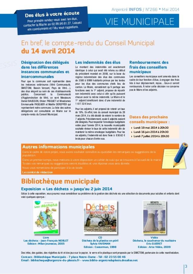 Argentré Infos Mai 2014 Slide 3