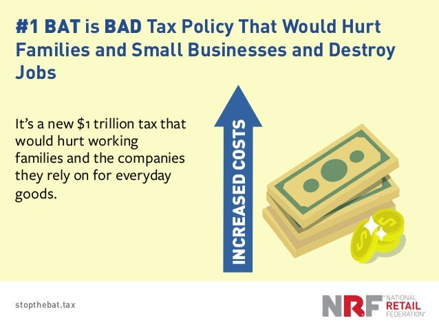 Reasons7 Border Adjustment Tax Is BAD The; 2. ...