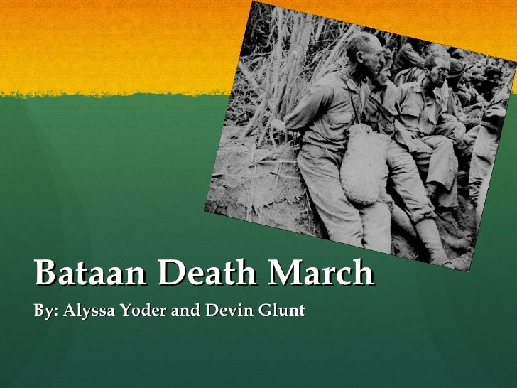 a review of the bataan death march