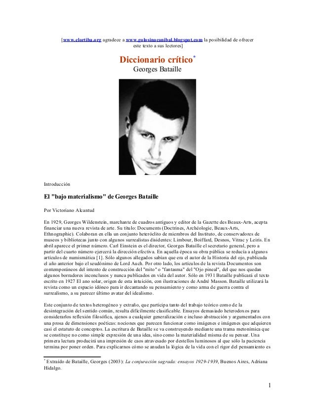 [www.elortiba.org agradece a www.golosinacanibal.blogspot.com la posibilidad de ofrecer este texto a sus lectores] Diccion...