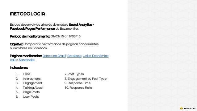 Bancos no Facebook - Estudo de Performance Slide 2