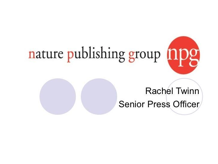 Rachel TwinnSenior Press Officer