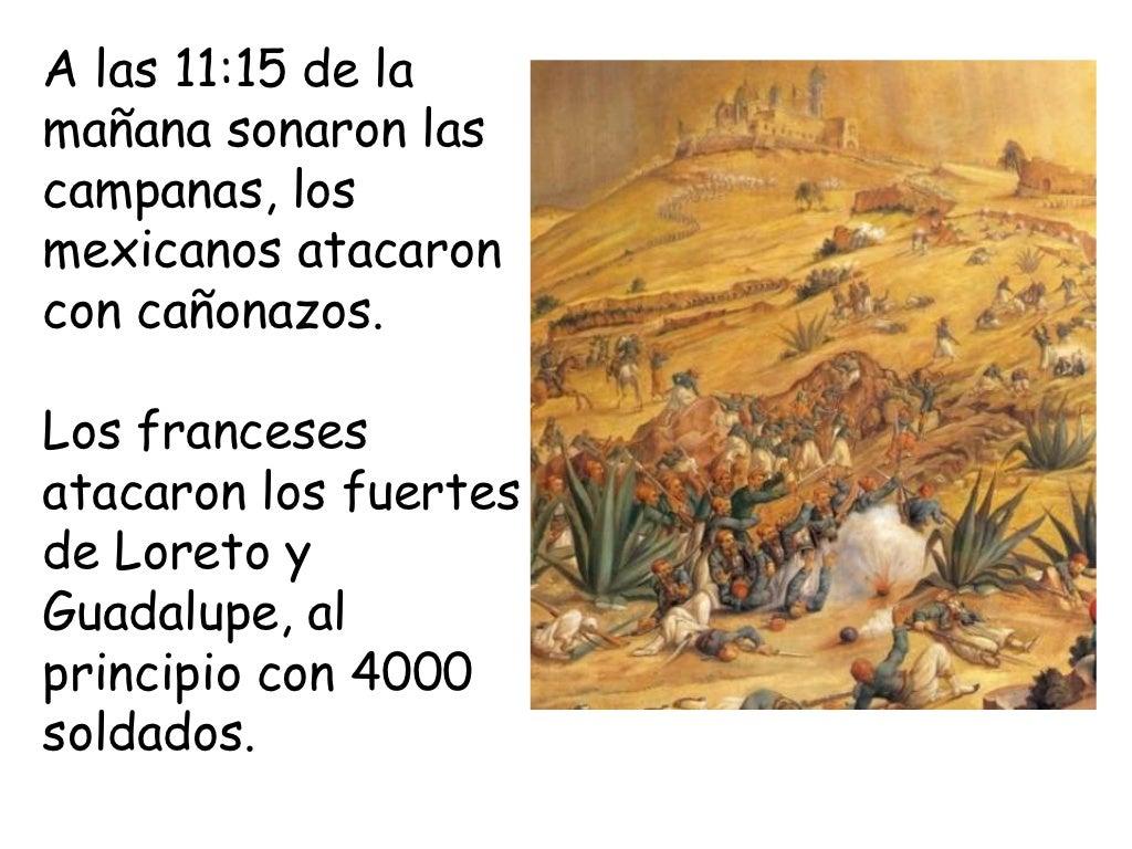 Batalla de Puebla Para Niños.