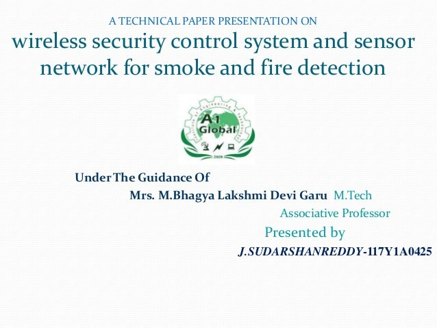 Wireless Security Control System And Sensor Network For