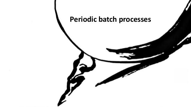 Batch processing in EDA (Event Driven Architectures)