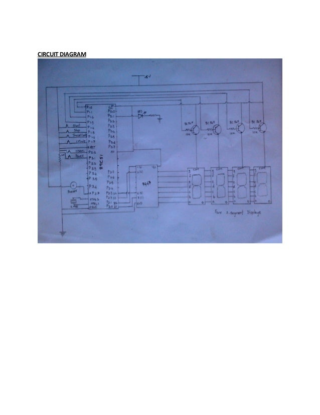 Design of Microwave oven using 8051 micro controller