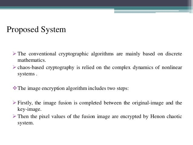 Image Encryption in java ppt