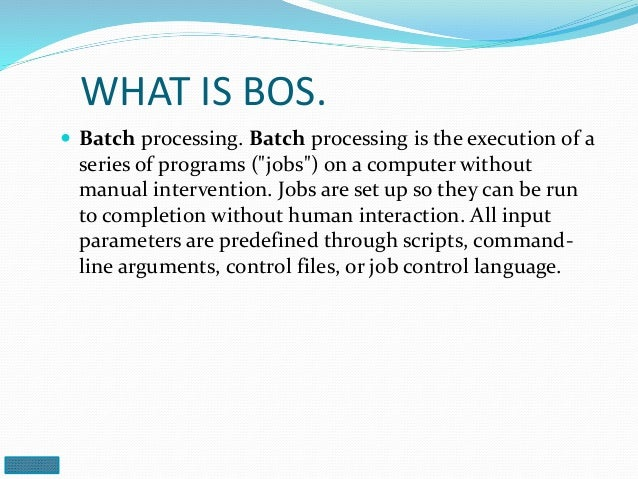 Disadvantages Of Serial Processing Operating System
