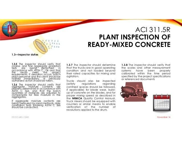 Batch Plant Maintenance
