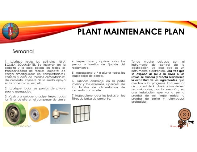 Batch Plant Maintenance