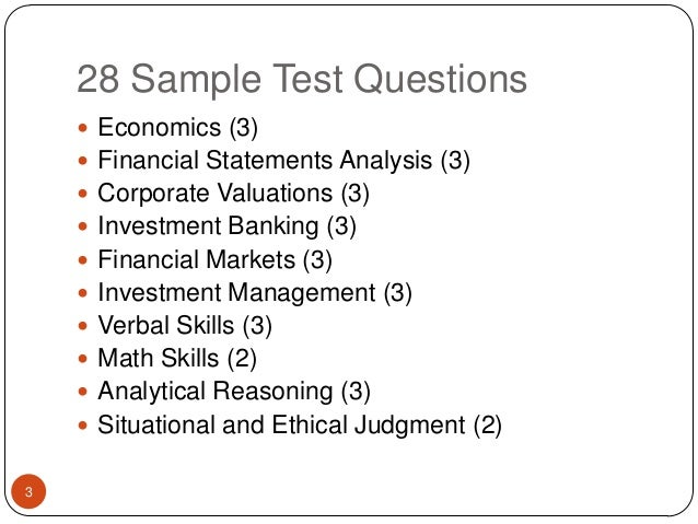 Bat @ cims sample questions