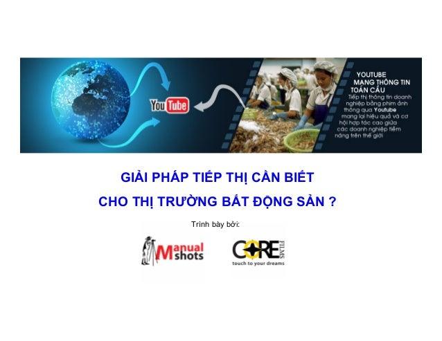 Bat dong san viet nam: giai phap tiep thi