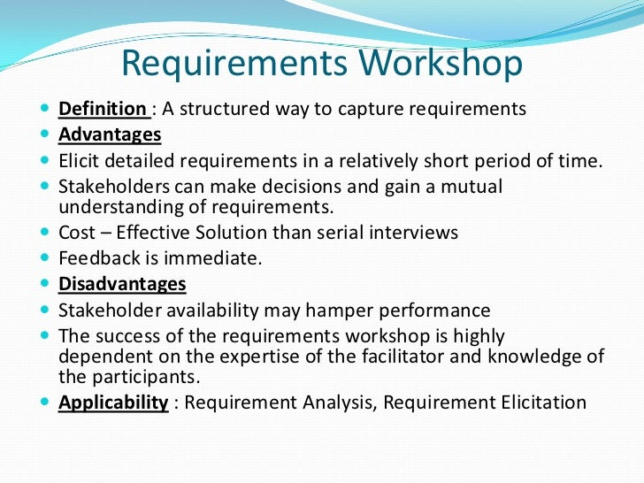 Applicability : Requirement Analysis, Requirement Elicitation; 23. Risk  Analysis Definition ...