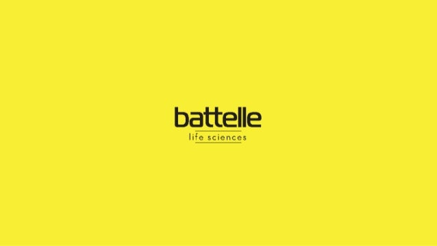 Battelle Health and Life Sciences Strategic Definition 1