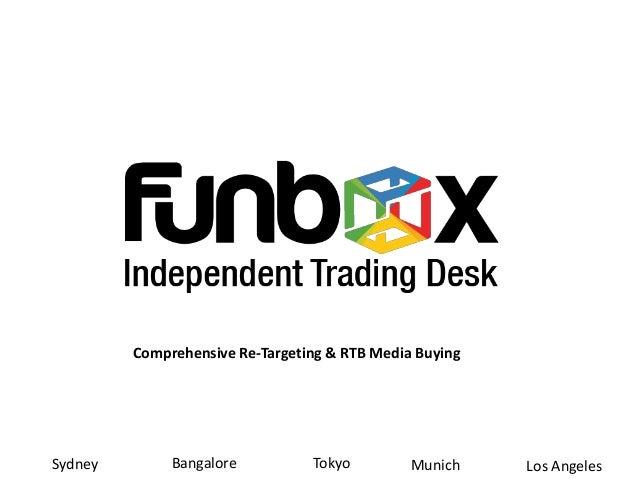 Comprehensive Re-Targeting & RTB Media BuyingTokyoBangaloreSydney Munich Los Angeles