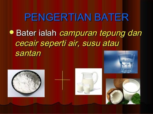 BAB 2: BATER TINGKATAN 1 Slide 2