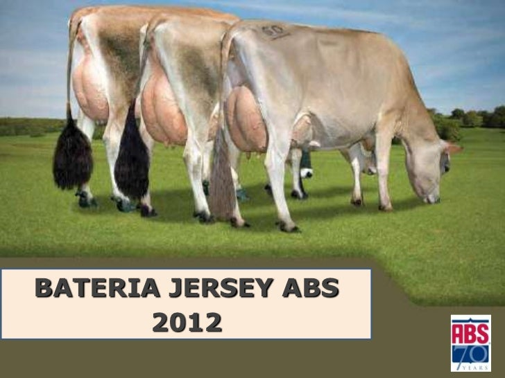 BATERIA JERSEY ABS       2012           THE WORLD LEADER   IN BOVINE GENETICS