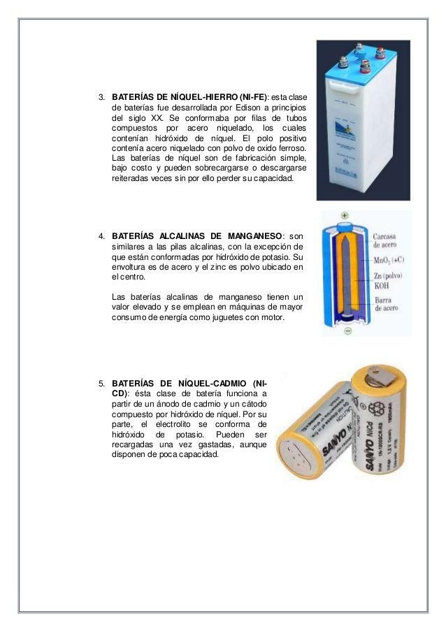 Baterios y tipos de baterias - Tipos de pilas alcalinas ...