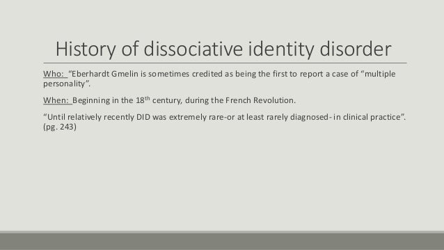 disorder dissertation dissociative identity report Disorder dissertation dissociative identity report disorder dissertation dissociative identity report disorder dissertation dissociative identity report overview.