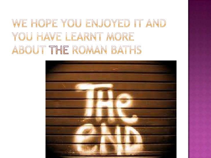 The baths of caracalla essay