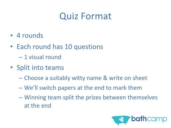 Bathcamp Tub Quiz Slide 2