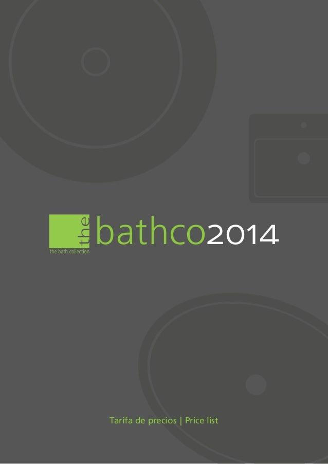 Cat logo tarifa 2014 lavabos de dise o for Sanitarios gala catalogo
