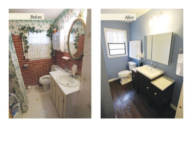 Remodel After Buying House Fast Cash - Fast bathroom remodel